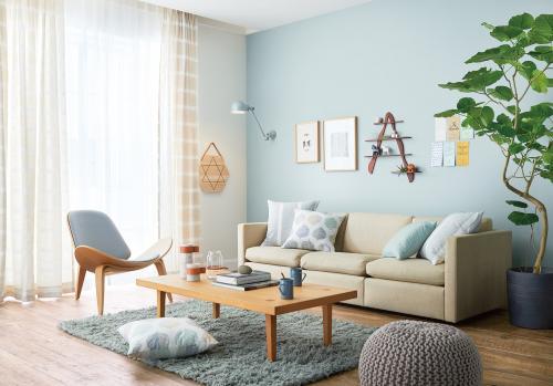 床色「ミディアム」におすすめのインテリアスタイル「Natural Comfort」 施工例